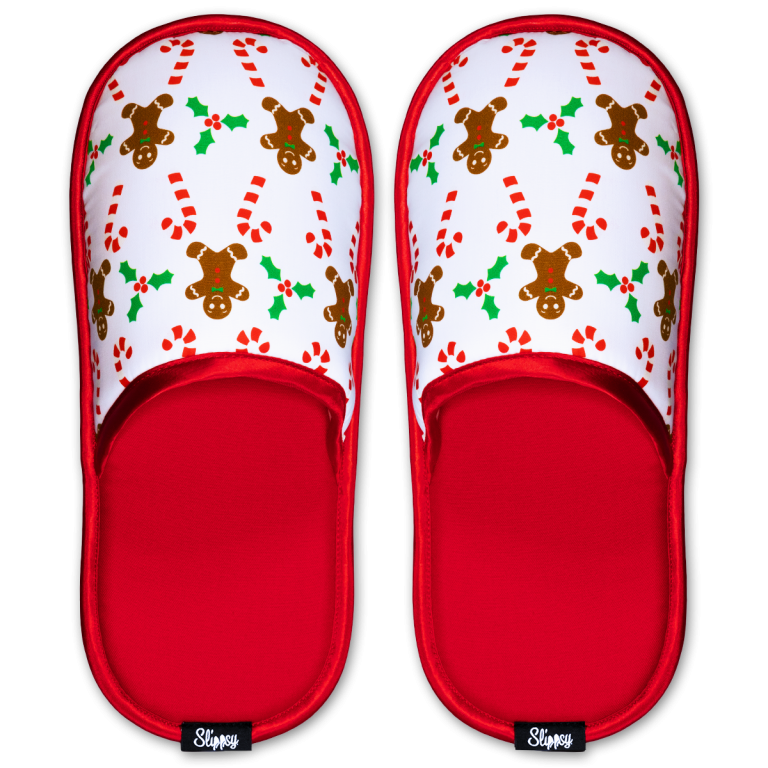 pantofle s perníčky