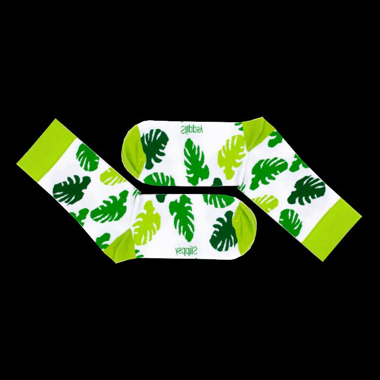 Ponožky s tropickými listy