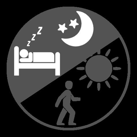 Na noc i den